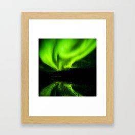 Northern Lights (Aurora Borealis) 4. Framed Art Print
