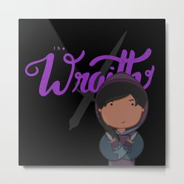 The Wraith Metal Print