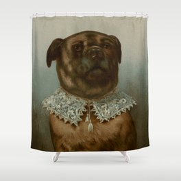 Uncle Toby by Frederick Dielman Shower Curtain