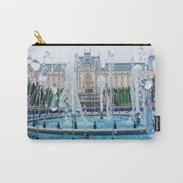 blue palace fountain Carry-All Pouch