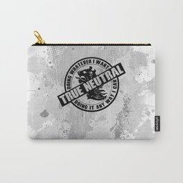 True Neutral RPG Game Alignment Carry-All Pouch