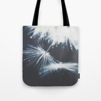 indigo Tote Bags featuring indigo by Ingrid Beddoes