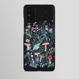 Night Mushrooms Android Case
