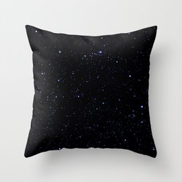 Dark Space Throw Pillow