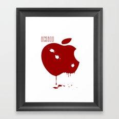 Apple Kill Framed Art Print