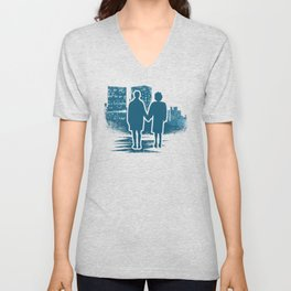You met me at a very strange time in my life. Unisex V-Neck