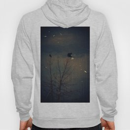 Raven's Gathering in the Blue Hour Hoody
