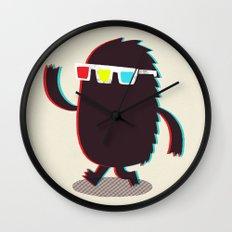 MONSTER 3d Wall Clock