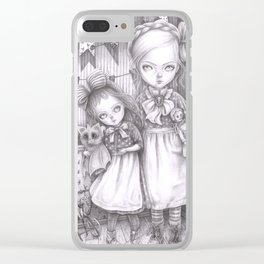 Subrina and Rosabel Clear iPhone Case