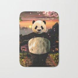 Panda Hug Bath Mat