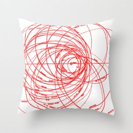Family of Comets Throw Pillow