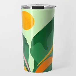 Things Are Looking Up 2 - Wide View / Tropical Greenery Travel Mug