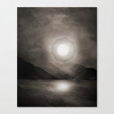 Landscape - intervention 01 Canvas Print