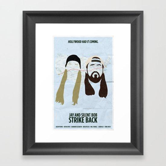 Jay and Silent Bob Strike Back Framed Art Print