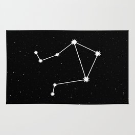 Libra Astrology Star Sign Rug