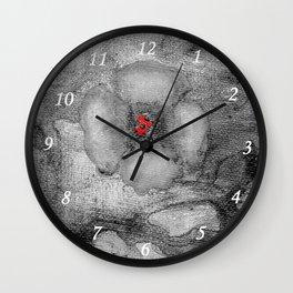 Grey Poppy S51 Wall Clock