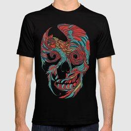 Rooster Skull T-shirt