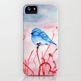 Blue Bird iPhone Case