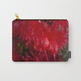 Scarlet Featherflower Carry-All Pouch