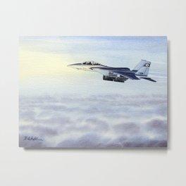 F-15 Eagle Aircraft Metal Print