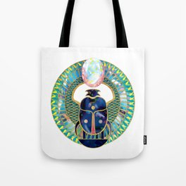 Egyptian Scarab Tote Bag