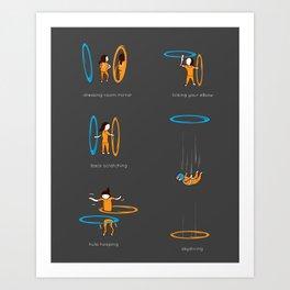 Lesser known uses Art Print