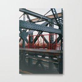 Framed Empire Metal Print