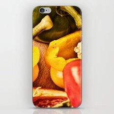 Peppered 4 iPhone & iPod Skin