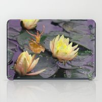 tinker bell iPad Cases featuring tinker bell & tiger lilies by EnglishRose23