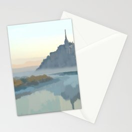 Le Mont Saint Michel Stationery Cards