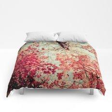 Autumn Inkblot Comforters