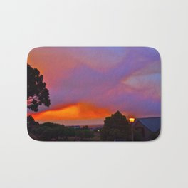 Smoky Sunset Bay Bath Mat