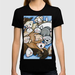 Wall to Wall Weasels T-shirt