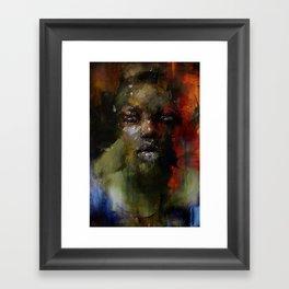 The Gospel singer Framed Art Print