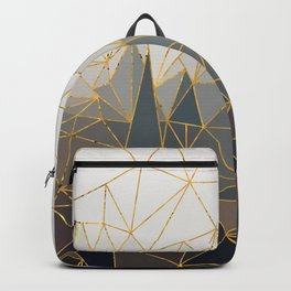 Autumn abstract landscape 1 Backpack