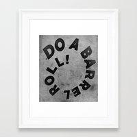 starfox Framed Art Prints featuring STARFOX - DO A BARREL ROLL! by John Medbury (LAZY J Studios)