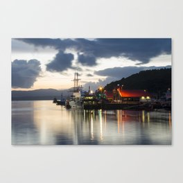 Oban Twylight  Canvas Print