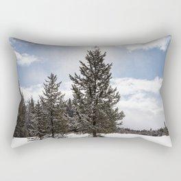 Gardners Hole, Yellowstone National Park Rectangular Pillow