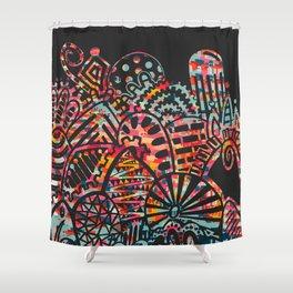 Imprint IV Shower Curtain