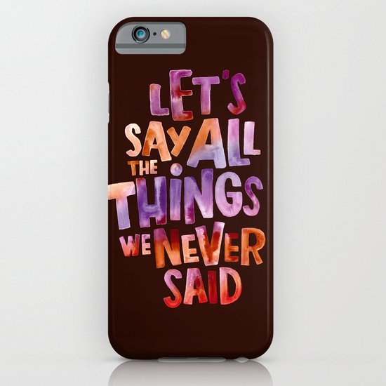All The Things iPhone & iPod Case