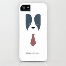 Pedigree: Boston Terrier iPhone (5, 5s) Slim Case