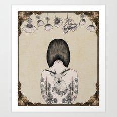 something flowery  Art Print