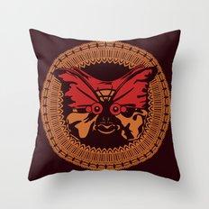 Puppet Butterfly Throw Pillow