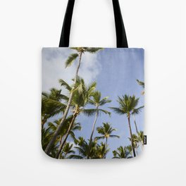 Palmy Blue. Tote Bag