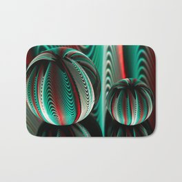 Waves in two crystal balls. Bath Mat