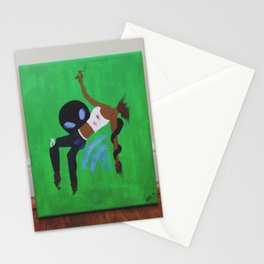 """""""Last Minute Abduction"""" Stationery Cards"""
