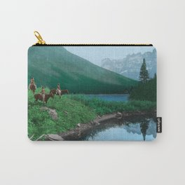 The Hunting Ground - Blackfoot American Indian Carry-All Pouch