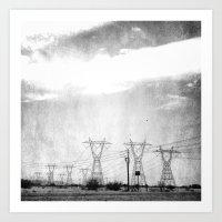 arizona Art Prints featuring Arizona by Whitney Retter