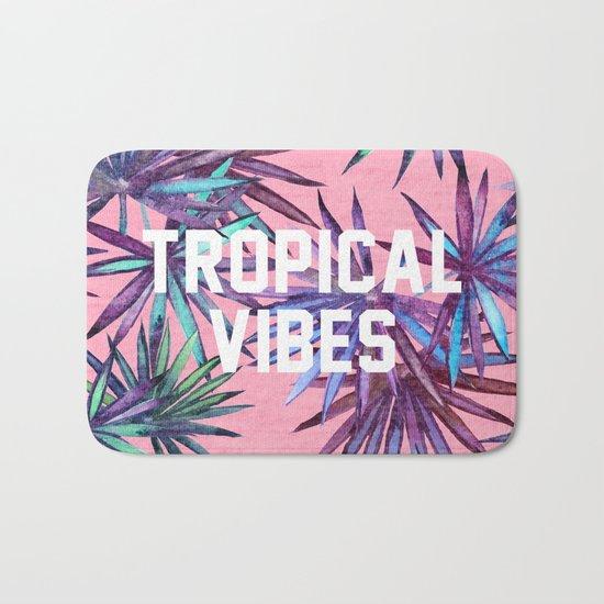 Tropical Vibes Bath Mat