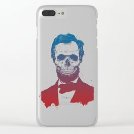 Dead Lincoln Clear iPhone Case